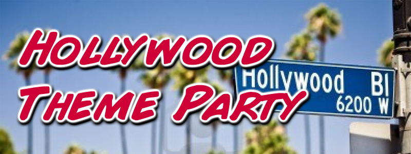Hollywood Theme Party Games And Activities